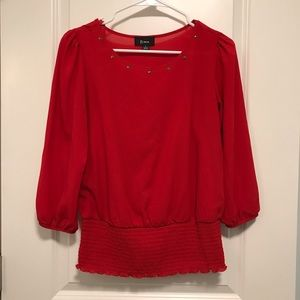 ⭐️MAKE AN OFFER!⭐️ Red blouse